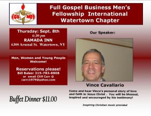 Vince Cavallario September 2016
